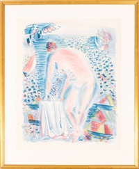 bather, 1930 by raoul dufy