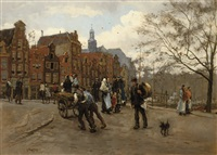 daily activities on the torensluis by felicien bobeldyk