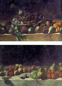 nature morte aux poires et aux figues by aniello ascione