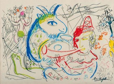 senza titolo by marc chagall