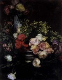bloemenstilleven by edouard agneessens