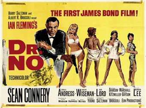 dr no designed by david chasman by mitchell hooks