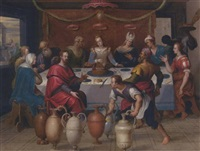 the marriage at cana by ambrosius francken the elder