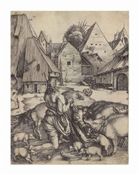 the prodigal son by albrecht dürer