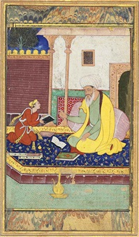 a lesson with a mullah by anonymous-indian-mughal (16)