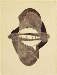 untitled, from: opus 3 by naum gabo