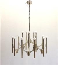 ceiling chandelier by sciolari (co.)