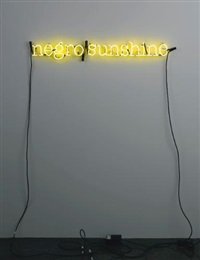 untitled (negro sunshine) by glenn ligon