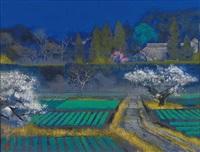 spring in the village by sumio goto