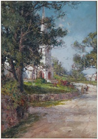paget church, bermuda by prosper louis senat
