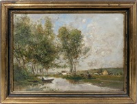 landscape by godefroy de hagemann
