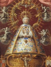 la vierge à l'enfant entourée d'anges by peruvian school-cuzco (17)