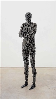 aggregate by antony gormley