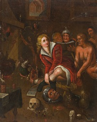 hexenküche by frans francken the younger