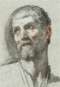 homme en buste (study) by fra semplice da verona