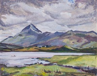 croagh patrick (from napper, co. mayo) by kitty wilmer o'brien