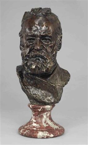 buste de victor hugo dit à lillustre maître version sans piédouche type i by auguste rodin