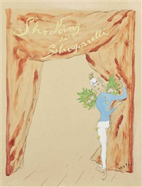 shocking (projet d'affiche) by marcel vertès
