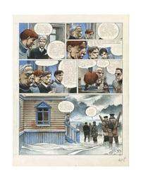 partie de chasse, pl.57 by enki bilal