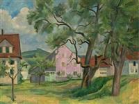 pink house by robert amrein