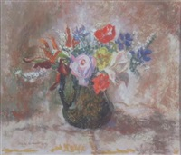 late summer flowers by mary nicol neill armour