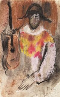 arlechin cu chitară by corneliu baba