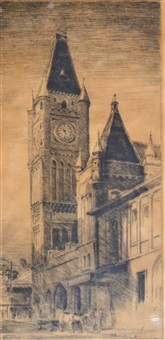perth town hall by henri van raalte