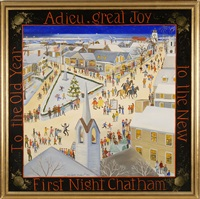 to the old year adieu, great joy to the new, first night chatham by elizabeth mumford