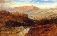 valley of jehosephat, south wall of jerusalem by samuel lawson booth