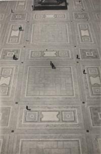 milan, piazza del duomo by herbert bayer