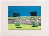 garden suite i-v (5 works) by ivor abrahams