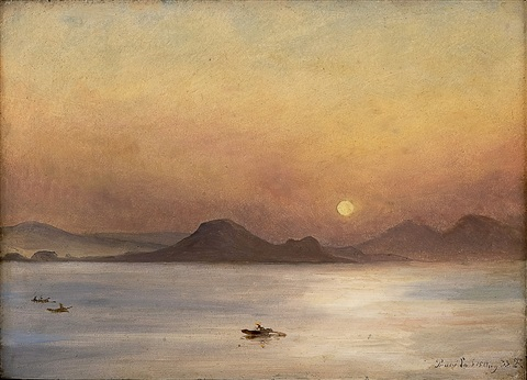 from procida by thomas fearnley