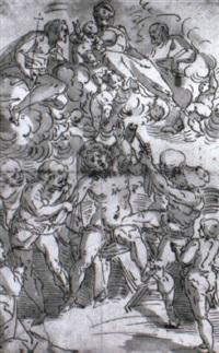 le martyre de saint barthélémy by lazzaro tavarone