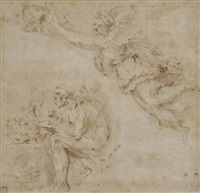 la renommée couronnant hercule by italian school (16)