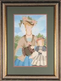 paryżanka z córeczką by alice hohermann