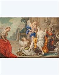 bagno di venere (+ venere e amore; 2 works) by fedele fischetti