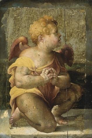 un ange en prière by domenico beccafumi