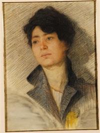 ritratto femminile by domenico guerello