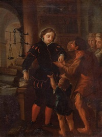 der spendable edelmann by joachim von sandrart the elder