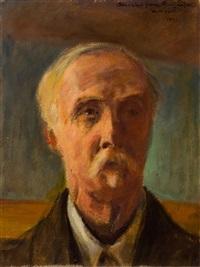 autoportret by stanislaw poraj fabijanski