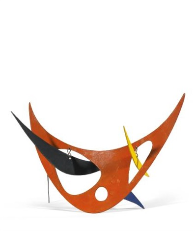 red skeleton by alexander calder