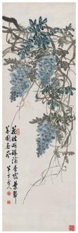 紫藤图 by chen banding