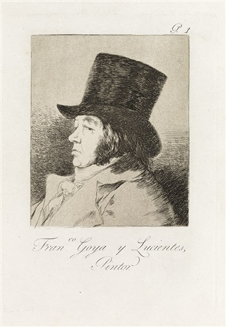 francisco goya y lucientes pintor by francisco de goya
