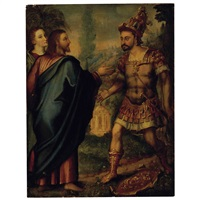 christ and the centurion by flemish school (16)
