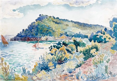 le cap nègre study by henri edmond cross