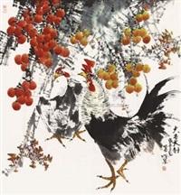 大吉大利 by ren hengquan