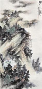 林中参禅 by you xiaoyun