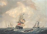 shipping in a stiff breeze by dominique de bast