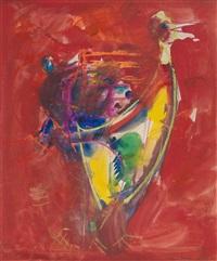 ohne titel (vogel) by hans hofmann
