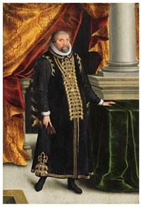 a portrait of elector johann georg von brandenburg by zacharias wehm
